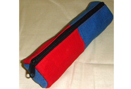 Two Colors Pencil Pouch of Juco