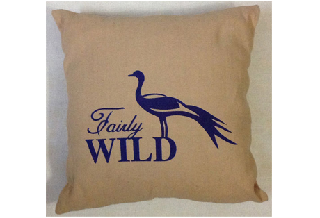 Cushion Cover of Juco with Screen Print