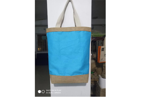 Bag with Cotton & Jute Fusion