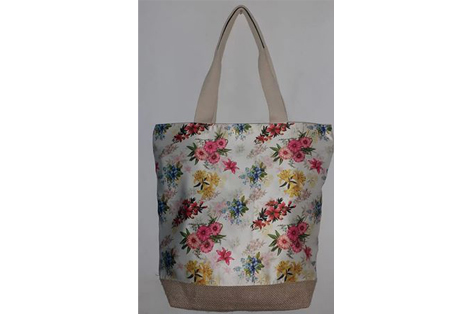 Tote Bag of Jute with Sublimation print