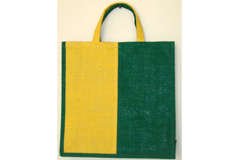Shopping bag of colors Fine Jute Fabric