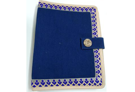 File Folder of Juco with Lace Border